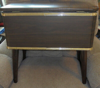 Sewing Storage Floor Standing  Box Tote Cabinet Caddy Very Nice
