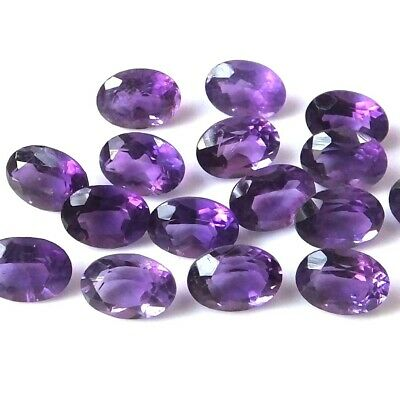 Lot of 6x4mm Oval Cabochon Natural Iolite Gemstone Loose Calibrated Gemstone