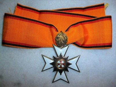 Imperial Germany, Waldeck Merit Cross 2nd Class neck badge 1896-1918
