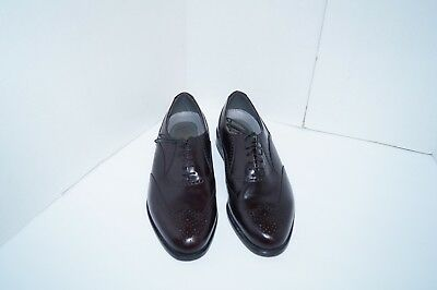 081c5cbc3852f NEW CLARKS BOSTONIAN Armon Wing Burgundy Leather Lace Up Wingtip ...
