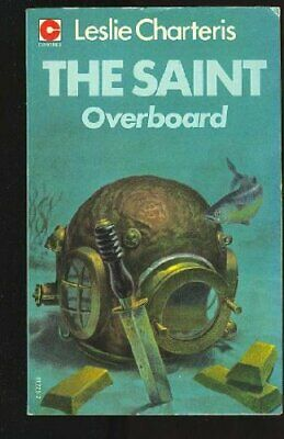 Saint Overboard by Charteris, Leslie Paperback Book The Cheap Fast Free Post