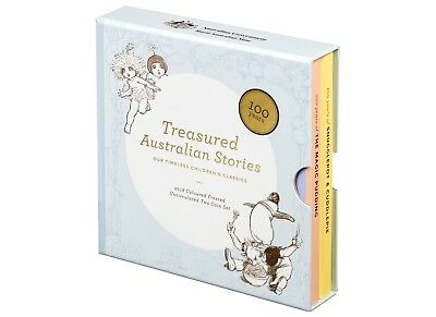 2018 - Treasured Australian Stories - Snugglepot, Cuddlepie & Magic Pudding Cent