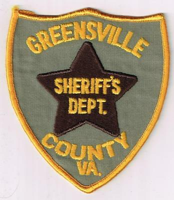 Greensville County Sheriff's Dept., Virginia - old style patch