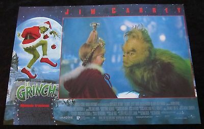 THE GRINCH WHO STOLE CHRISTMAS lobby card  # 8 - TAYLOR MOMSEN, JIM CARREY