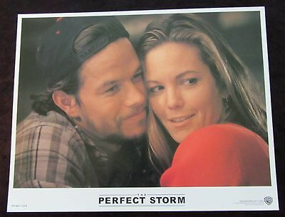 THE PERFECT STORM  lobby card #6 MARK WAHLBERG, DIANE LANE