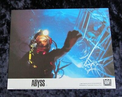 The Abyss original lobby cards - James Cameron (1989) uk mini set of 8 stills