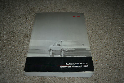 1987 Acura Legend factory service manual