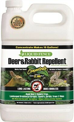 Spectrum Hg-70111 Liquid Fence Deer And Rabbit Repellent  Concentrate  1 Gallon
