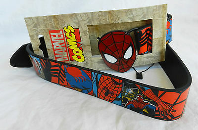 Spiderman Belt - Official Marvel Licensed Product - 26 - 32  waist - BNWT