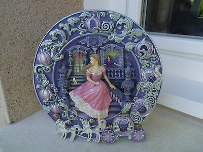 Assiette Cinderella The Magical Hour The Franklin Mint Heirloom
