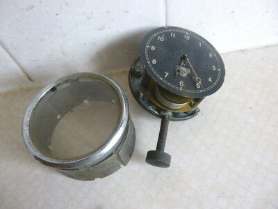 Vintage  Smiths 8 Day Car Clock  For Spares Or Repair- Morris - Austin - Riley