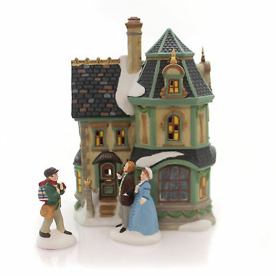 Department 56 House 2017 DICKENS' VILLAGE HOME FOR THE HOLIDAYS Gift Set 4059379