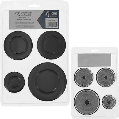 Gas Hob Burner Cap & Flame Crown Set for UNIVERSAL Cookers All Sizes 55 - 100mm