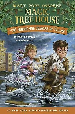 Hurricane Heroes in Texas by Mary Pope Osborne Hardcover Book Free Shipping!