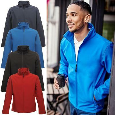 Regatta Mens Print Perfect Softshell Jacket Water Repellent and Wind Resistant