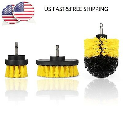 Drill brush Bathroom Surfaces Tub Shower Tile&Grout Power Scrubber Cleaning Sets
