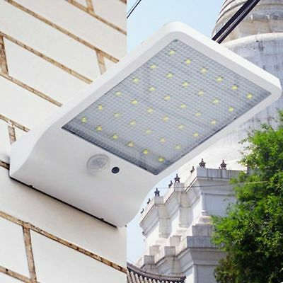 36 LED Waterproof Bright Solar Power Light Motion Sensor Outdoor Security Wall