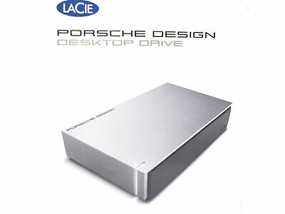 LaCie Porsche Design 4 TB Desktop Drive Festplatte - light grey for Mac - 3.5""
