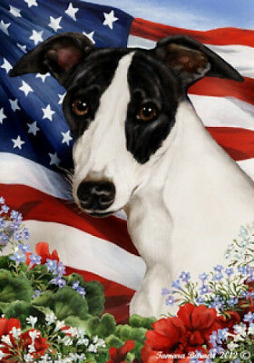 Large Indoor/Outdoor Patriotic I Flag - Whippet 16062