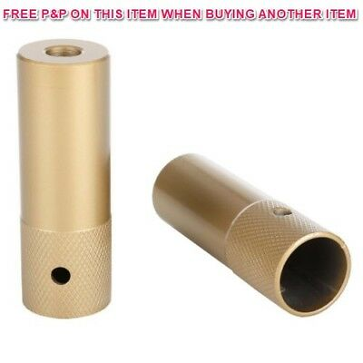 PAIR CHUNKY GOLD BMX BIKE STUNTPEGS GRINDING FREESTYLER TRICK NUTS 10/14mmx110mm