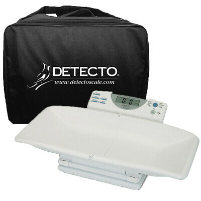 Detecto 8440 Digital Infant Baby Toddler Scale and Carrying Case