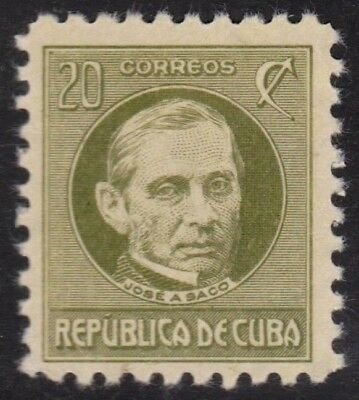 1917 Caribbean Stamps Sc 271 Jose A.Saco  NEW
