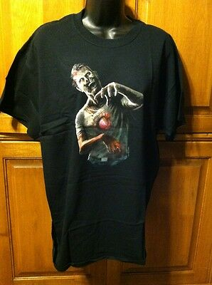 Zombie T-Shirt (Black) - Unisex - Size Large