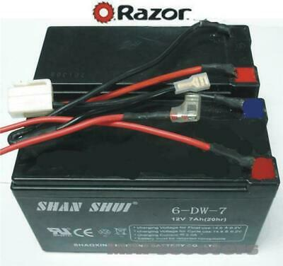 Razor Battery pack with wires and plugs Electric Scooter E200 E300 E200S E300S
