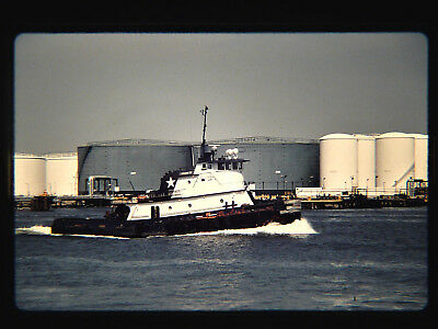 Original slide  tugboat  PEGASUS I at St. George, NY on 6-2-96