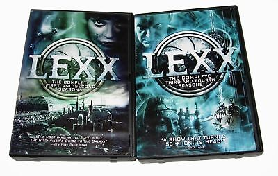 Lexx The Complete TV Series Seasons 1-4 1 2 3 4 NEW BUNDLE COLLECTION DVD SET