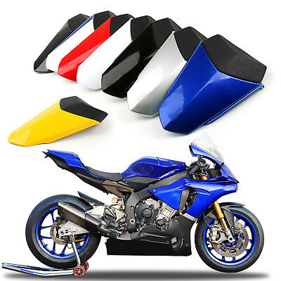One piece Seat Cowl Rear Passenger Fairing Cover For Yamaha YZF-R1 R1 2015-2018