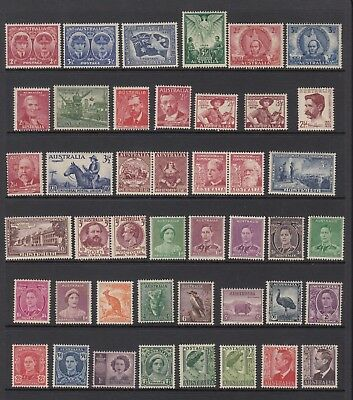 Collection of 123 pre-decimal stamps, Mint Never Hinged