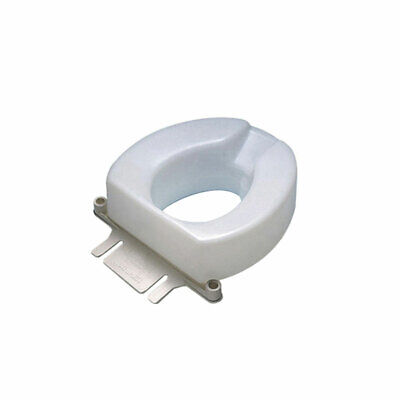 """Ableware 725831006 6"""" Contoured Tall-Ette Elevated Toilet Seat"""