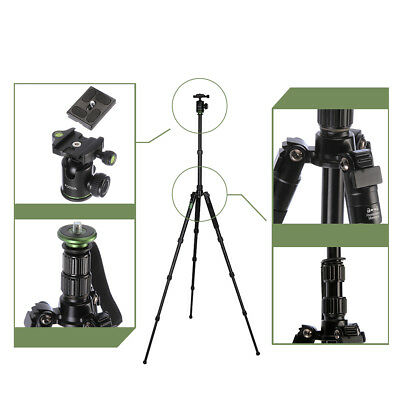 FOTGA Aluminum Tripod Monopod BallHead Pocket Travel for Canon Nikon DSLR Camera