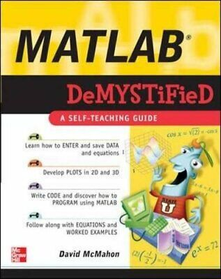Matlab Demystified by Mcmahon, David Paperback Book The Cheap Fast Free Post