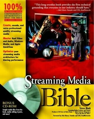 Streaming Media Bible by Mack, Steve Paperback Book The Cheap Fast Free Post