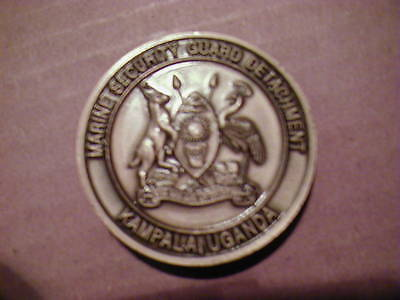 Usmc  Marine Security Guard Detachment Kampala, Uganda   Msg   Challenge Coin