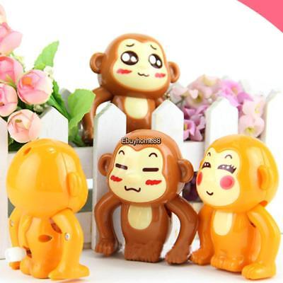 children cartoon animal monkey shape wind up clockwork kids toy ehe8 01