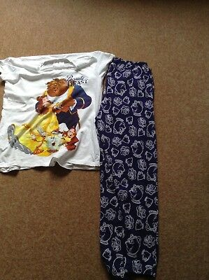 LADIES AVON DISNEY beauty and the beast pyjamas - £4.20  86e7e93ca