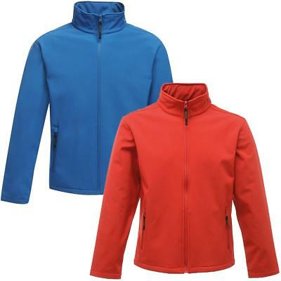 Regatta Mens Classic 3 Layer Softshell Jacket - Water Repellent | Wind Resistant