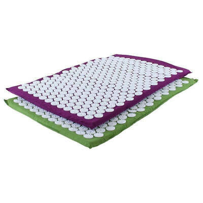 Hoopomania Acupressure Mat, green or purple, Meditation excersises, Relax