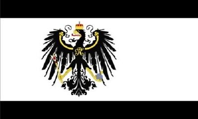 3x5 Kingdom of Prussia Flag Germany Banner Prussian German Pennant New