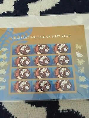 Chinese Lunar New Year Stamp Sheet  US Forever 2015 Year Of The Ram new sealed
