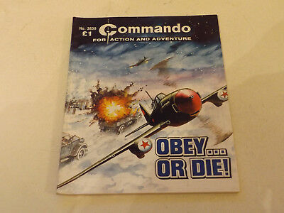 Commando War Comic Number 3839,2005 Issue,good For Age,13 Years Old,very Rare.