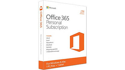 Microsoft Office 365 Personal - Office Suite - 1 Year Box (qq2-00597) (qq200597)