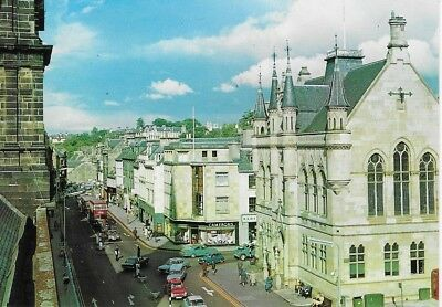 Postcard High Street And Town House, Inverness J.Arthur Dixon Unposted