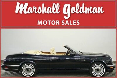 2002 Rolls-Royce Corniche  2002 Rolls-Royce Corniche Royal Blue Magnolia Connolly leather 10,882  miles