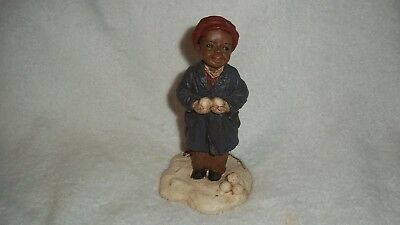 "1991 Martha Holcombe - All God's Children ""Samuel""  #10 Figurine"