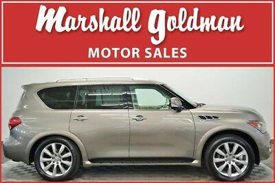 2013 Infiniti QX56  2013 INFINITI QX56 in Smoky Quartz over Wheat leather only 76,250 miles