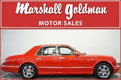 2000 Bentley Arnage  2000 Bentley Arnage  St. James' Red over Beige leather 21,900 miles